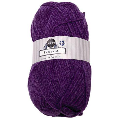 Rosie's Studio Family Yarn Double Knit Violet 50g