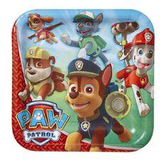 Paw Patrol Plates 23cm 8 Pack