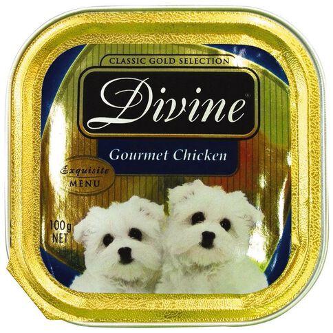 Divine Dog Gourmet Chicken 100g