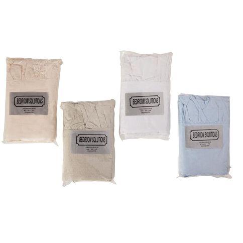 Pillowcase Ruffle Assorted 2 Pack Assorted
