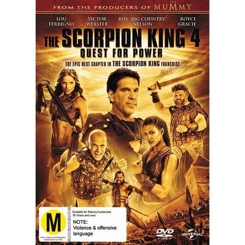 Scorpion King 4 DVD 1Disc