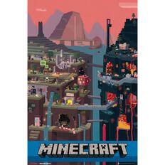 Mine Craft World Poster