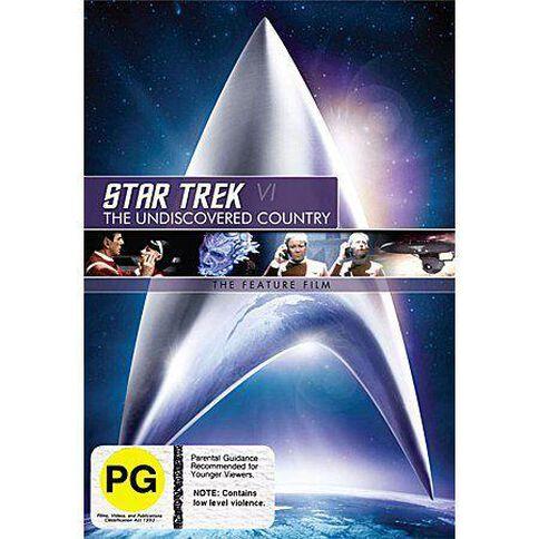 Star Trek 6 Undiscovered DVD 1Disc