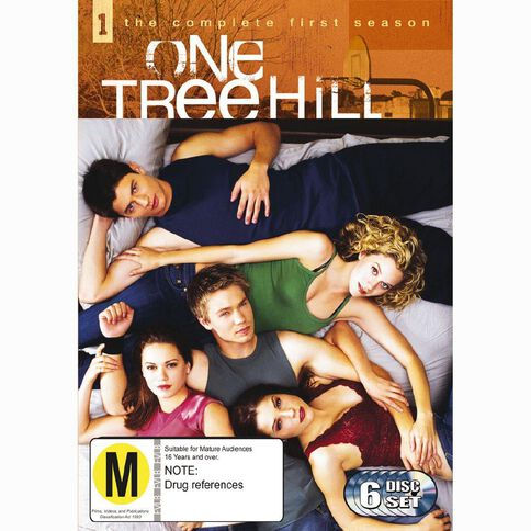 One Tree Hill Season 1 DVD 6Disc
