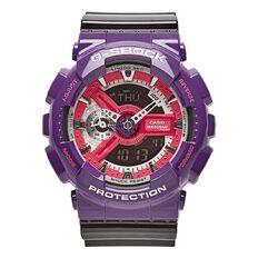 Casio G-Shock Ana-Digi Watch Black/Purple