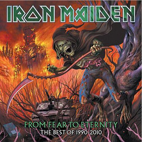 From Fear To Eternity The Best of 1990 - 2010 CD by Iron Maiden 2Disc