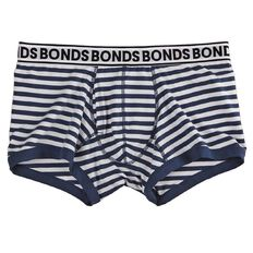 Bonds Men's Fit Stripe Trunks