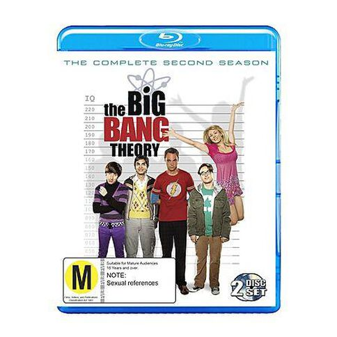 The Big Bang Theory The Complete Second Season Blu-ray 2Disc