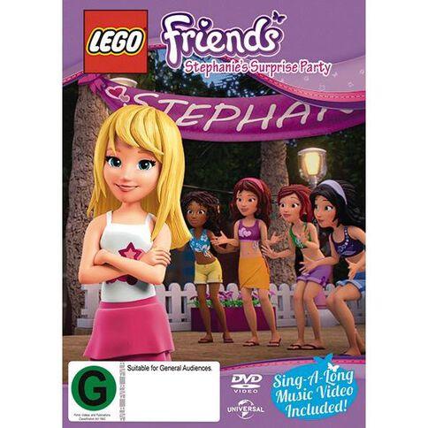 LEGO Friends Season 1 Episode 2 Stephanies Surprise Party DVD 1Disc