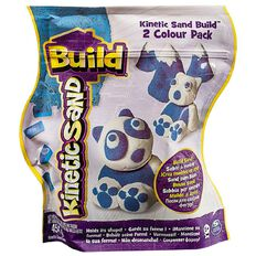 Kinetic Sand Build 2 Colours Assorted