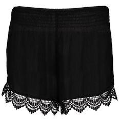 Garage Shirred Waist Shorts