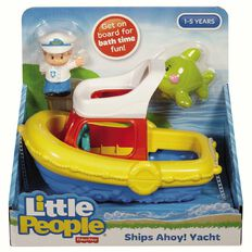 Fisher-Price Little People Ships Ahoy Yacht