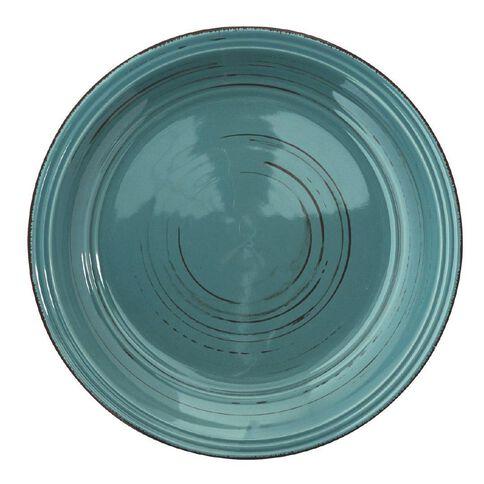 Harrison & Lane Dinner Plate Glazed Blue
