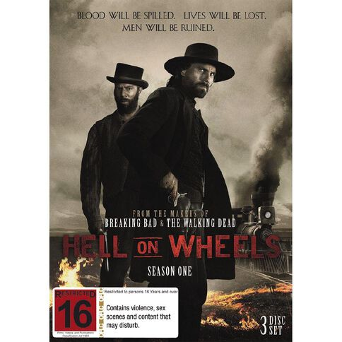 Hell On Wheels Season 1 DVD 4Disc