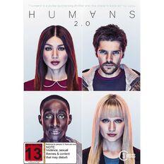 Humans Season 2 DVD 3Disc