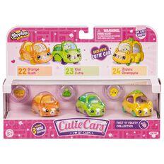 Shopkins Cutie Cars 3 Pack Assorted