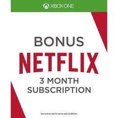 Netflix 3 Month Token Free with Xbox