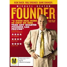 The Founder DVD 1Disc