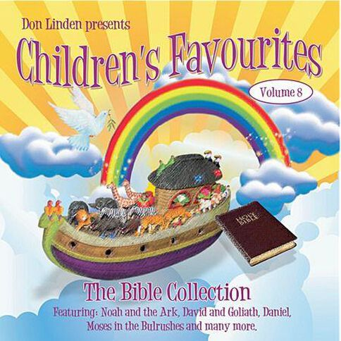 CD Linden Don Childrens Favs Vol 8 Bible Coll