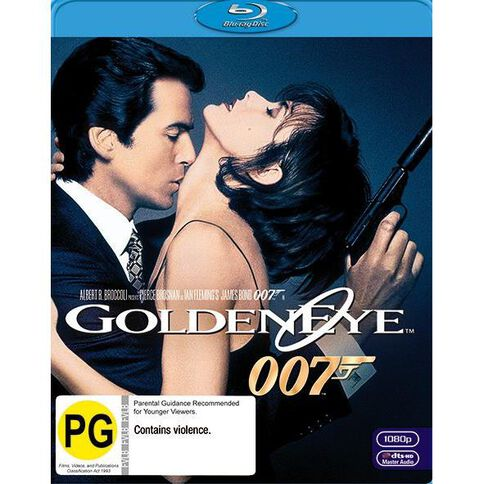 Goldeneye Blu-ray 1Disc