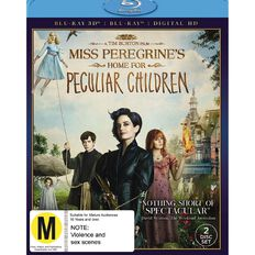 Miss Peregrine's Home For Peculiar Children 3D Blu-ray 1Disc