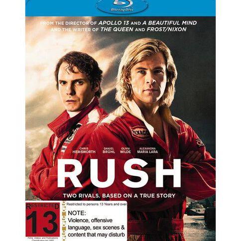 Rush Blu-ray 1Disc