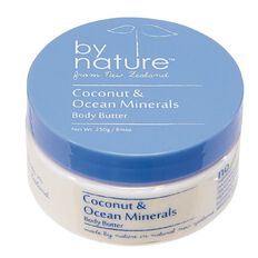 By Nature Body Butter Coconut/Ocean Minerals 250gm