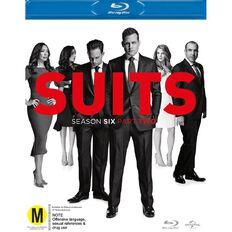 Suits S6 Part 2 Blu-ray 2Disc