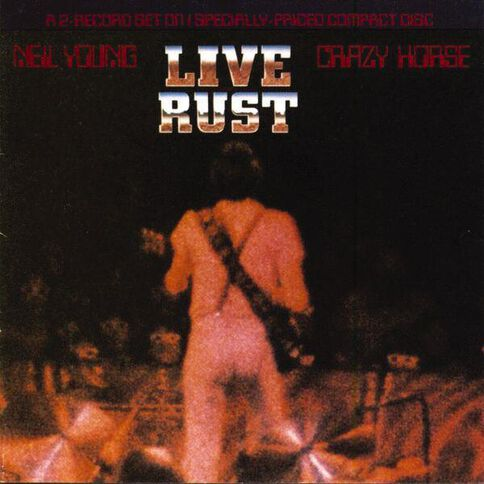 Live Rust CD by Young Neil 1Disc
