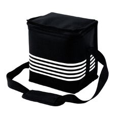 Living & Co 9 Can Cooler Soft Black & White