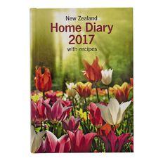 Diary 2017 New Zealand Home Diary