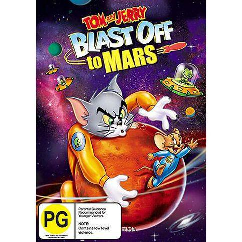 Tom & Jerry Blast Off To Mars DVD 1Disc