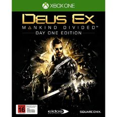 XboxOne Deus Ex Mankind Divided