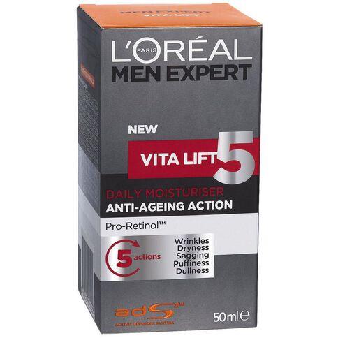 L'Oreal Paris Men Expert Vitalift 5 Moisturiser 50ml