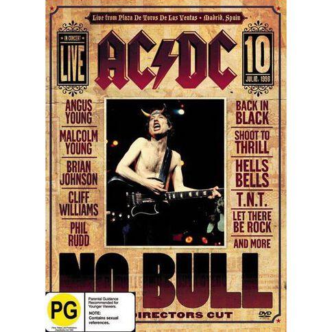 AC/DC No Bull DVD 1Disc