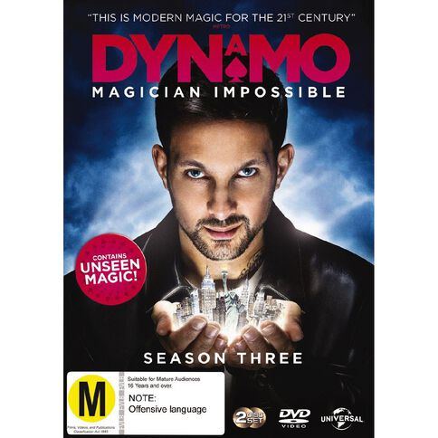 Dynamo Magician Impossible Series 3 DVD 1Disc