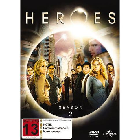 Heroes Season 2 DVD 4Disc