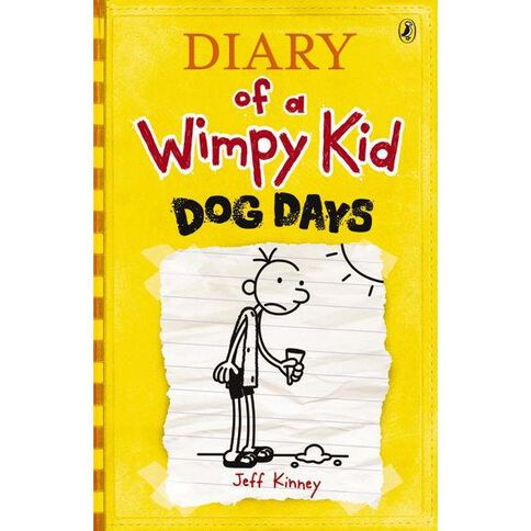 Diary of a Wimpy Kid #4 Dog Days by Jeff Kinney