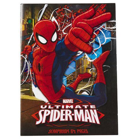 Spider-Man Scrapbook 64 Pages
