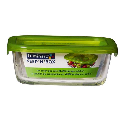 Luminarc Keep N Box Storage Rectangle 370ml