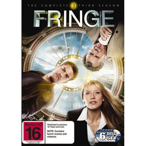 Fringe Season 3 DVD 6Disc