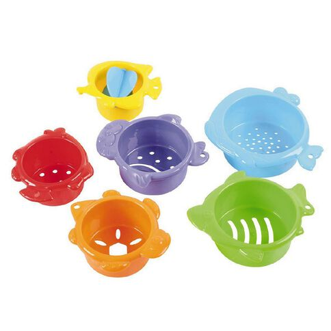 Playgo Under The Sea Sand Sieves 8 Pack