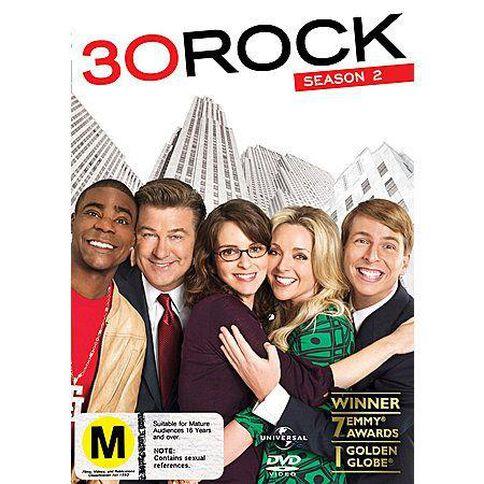 30 Rock Season 2 DVD 3Disc