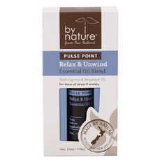 By Nature Essential Oil Pulse Point Relax & Unwind 10ml