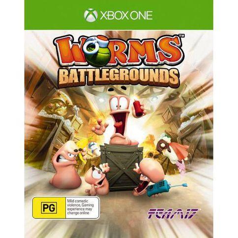XboxOne Worms Battlegrounds