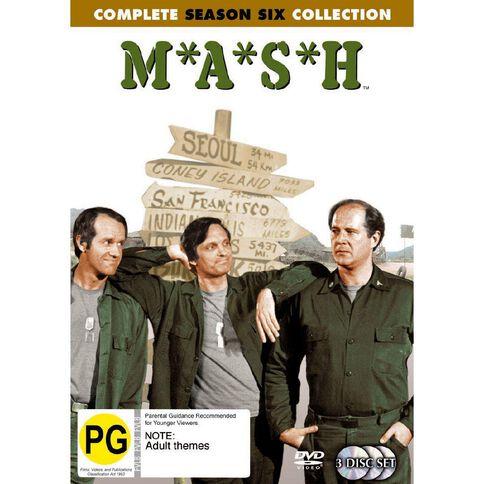 Mash Season 6 DVD 3Disc