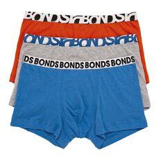 Bonds Boys' Fun Pack Trunks 3 Pack