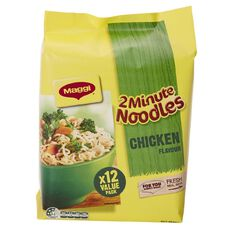 Maggi 2 Minute Noodles Chicken 12 Pack