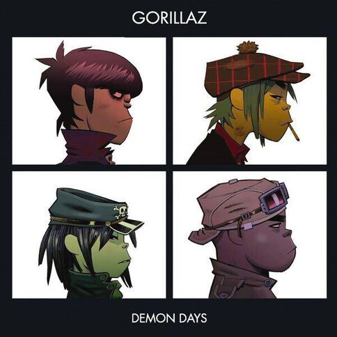Demon Days CD by Gorillaz 1Disc