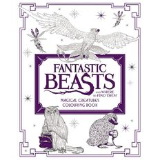 Fantastic Beasts Colouring Book Creature
